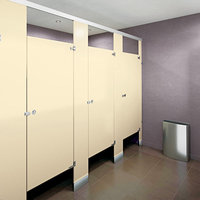 Powder-Coated Steel Toilet Partitions image