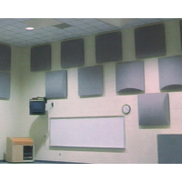 Fabric Wrapped Acoustical Diffuser Panels image