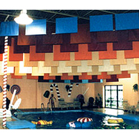 Sailcloth & Vinyl Encapsulated Acoustical Baffles image