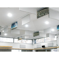 Fabric Wrapped Acoustical Baffles image