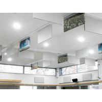 Acoustical Surfaces, Inc. image | Fabric Wrapped Acoustical Baffles