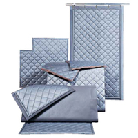 Absorptive/Noise Barrier Quilted Curtains image