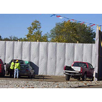 Acoustical Surfaces, Inc. image | Temporary Exterior Noise Barrier