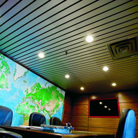 Linear Alumiline Ceilings & Walls image