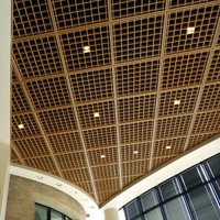 Open Cell Acoustical Ceiling Louvers image