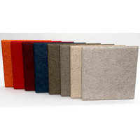 New - Cementitious Wood-Fiber Acoustic Ceiling and Wall Panels image