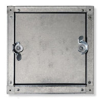 No Hinge Self Stick Duct Door (for Sheet Metal Duct) image