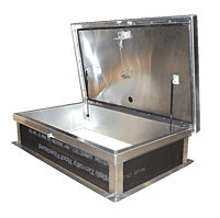 Ship Stair Access Roof Hatch, Aluminum (RHA) image