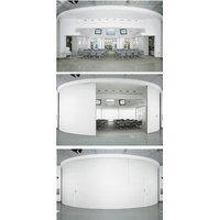 Curved Wall Panels - Manual and Electric Operation image