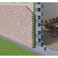 Brick on Stud Wall image
