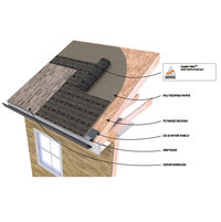 Roof Ventilation Mat for Wood and Metal Roofing image