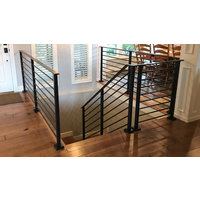 Horizontal Bar Flat Top Railing image