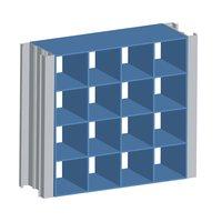 Air Balance image | Extruded Aluminum Modular Grille Screen (Stationary)