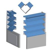 Stack Ventilation Extruded Aluminum Penthouse image