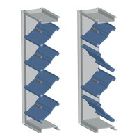 Parallel/Opposed Single Thickness Blade Balancing Damper image