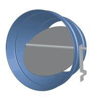 Round Single Blade Volume Control Damper image