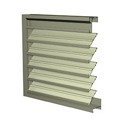 Extruded Aluminum Drainable Louvers
