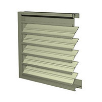 Extruded Aluminum Drainable Louvers image