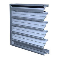 Extruded Aluminum Combination Louvers image