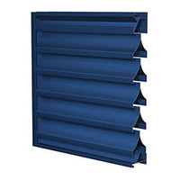 Extruded Aluminum Sightproof Louvers image