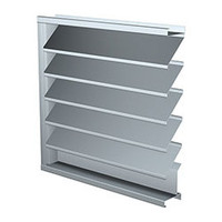 Fabricated Stationary Louvers image