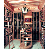 Wine Cellar Rolling Ladders image