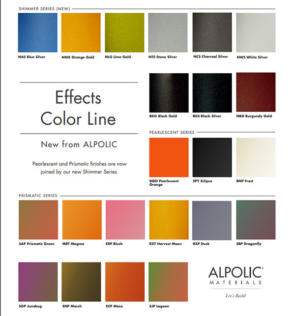 Effects Color Chart