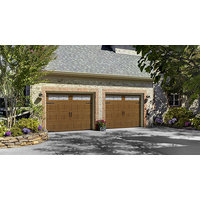 Oak Summit® Collection Garage Doors  image