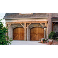 Wood Carriage House Garage Doors  image
