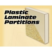 Plastic Laminate Partitions image