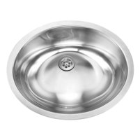 Single Bowl Undermount Deluxe Stainless Steel Bathroom Sink image