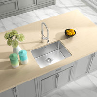 ADA Compliant, Single Bowl Undermount Legend Stainless Steel Kitchen Sink image