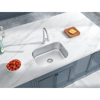 Single Bowl Undermount Deluxe Stainless Steel Kitchen Sink image