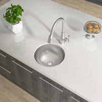 Single Bowl Undermount Builder Stainless Steel Bar Sink image
