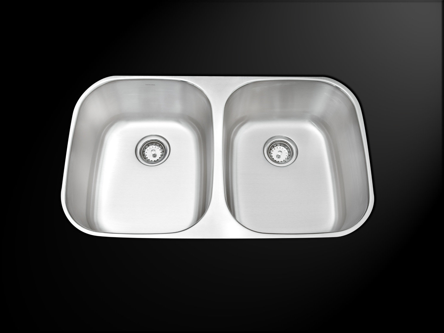 Double Bowl Undermount Economy Stainless Steel Kitchen Sink