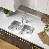 Double Bowl Undermount Trend Stainless Steel Kitchen Sink image