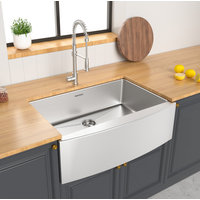 Single Bowl Apron Legend Stainless Steel Kitchen Sink image