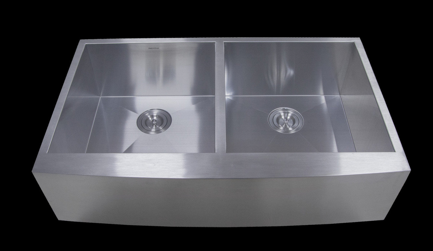 Double Bowl Apron Legend Stainless Steel Kitchen Sink