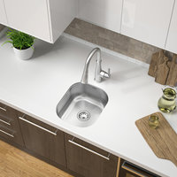 Single Bowl Undermount Economy Stainless Steel Bar Sink image