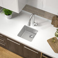 Single Bowl Undermount Granite Composite Bar Sink image