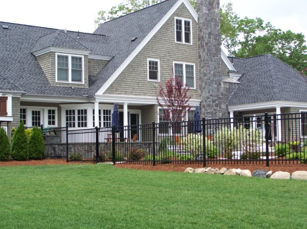 Residential Ornamental Steel Fence