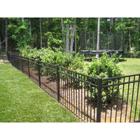 Residential Ornamental Aluminum Fence image
