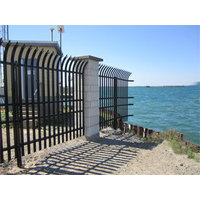 Anti-Ram Barrier With High Security Steel Fence image