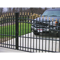 Arched Entry & Driveway Gates image
