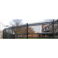 Anti-Ram Industrial Ornamental Steel Fence image
