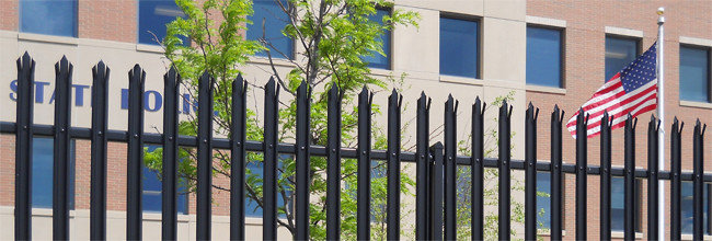 Building Product: High Security Steel Palisade Fence - Impasse ll [10273c6] | ARCAT