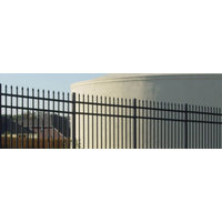 Industrial Component Ornamental Steel Fence image