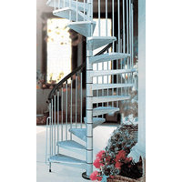 Enduro Steel Outdoor Spiral Staircase Kit image