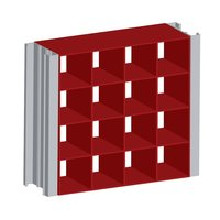 Extruded Aluminum Modular Grille Screen (Stationary) image