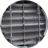 11/2 Hour Rated True Round Curtain Fire Damper (Phillips) image